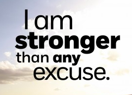Stronger than an excuse