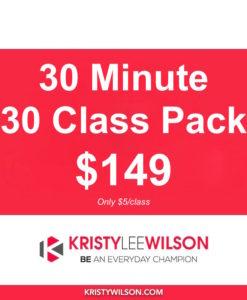30 min Class Pass - 30