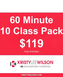60 min Class Pass - 10