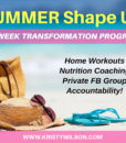 Summer Shape Up Promo 2
